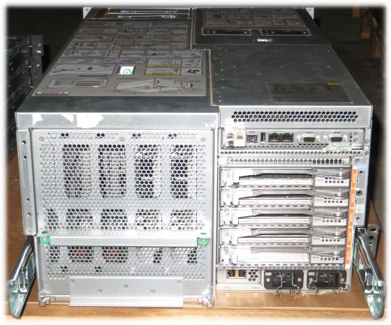 SUN M4000 SPARC Enterprise 4x Quad Core SPARC64 VII @ 2,66GHz 64GB 2x 146GB