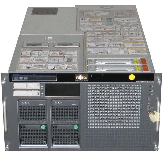 Fujitsu M4000 2x SPARC64 VII 2,66GHz 64GB 2x 72GB Server