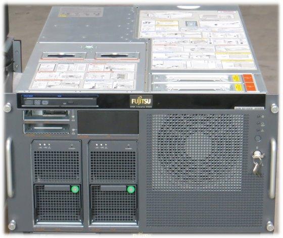 Fujitsu M4000 4x SPARC64 VII 2,66GHz 64GB Server