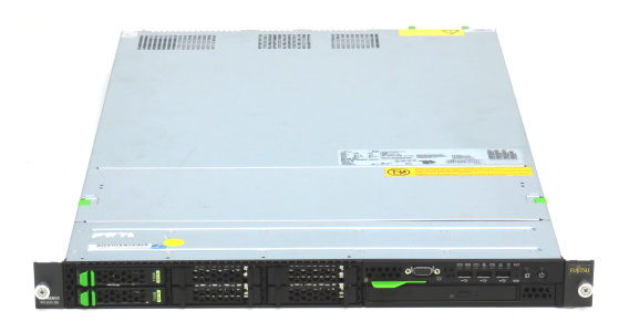 Fujitsu Primergy RX200 S5 2x Xeon Quad Core E5520 @ 2,26GHz 4GB 2x 72GB MegaRAID