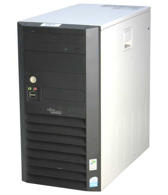 FCS Esprimo P2520 Dual Core E2180 @ 2GHz 2GB 160GB DVD PC Tower B-Ware
