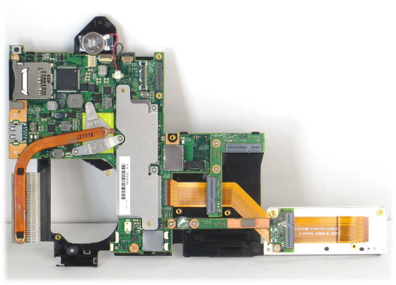 Fujitsu Mainboard für Stylistic Q702 mit CPU i3-3227U CP634784-XX Motherboard NEU