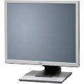 """19"""" TFT LCD Fujitsu P19-5P ECO Pivot 1280 x 1024 Monitor mit Lautsprecher vergilbt"""