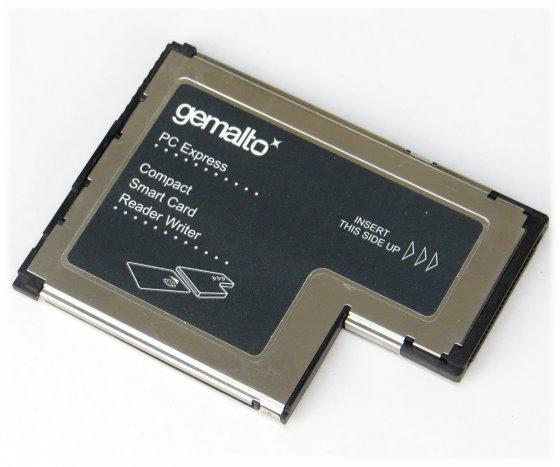 Gemalto PC Express Compact Smart Card Reader Writer 41N3045 41N3047 HWP114012D