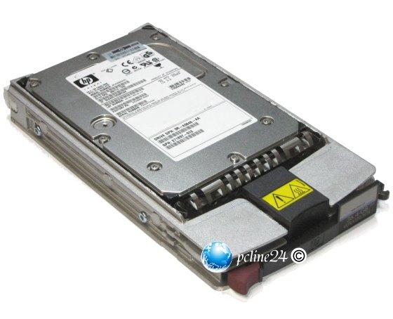 HP 146GB 10K SCSI U320 SCA 80pin Fujitsu MAW3147NC im Tray Universal HP/Compaq 404708-001