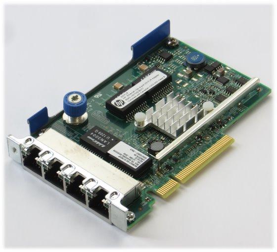 HP 331FLR 4x Port Gigabit Netzwerkkarte PCIe x8 GbE low Profile LP