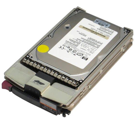 HP BF300DA47B 300GB 15K 40 Pin FC HUS153030VLF400 HDD im Tray 416728-001