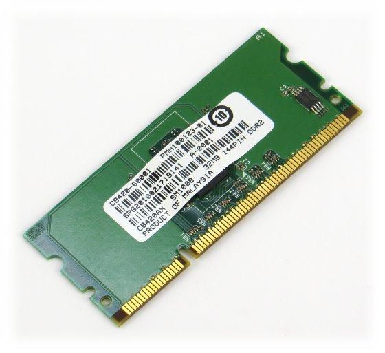 HP CB420AX 32MB CB420-60001 Speicher DDR2 144pin für Drucker LaserJet P2014 P2015 P3005