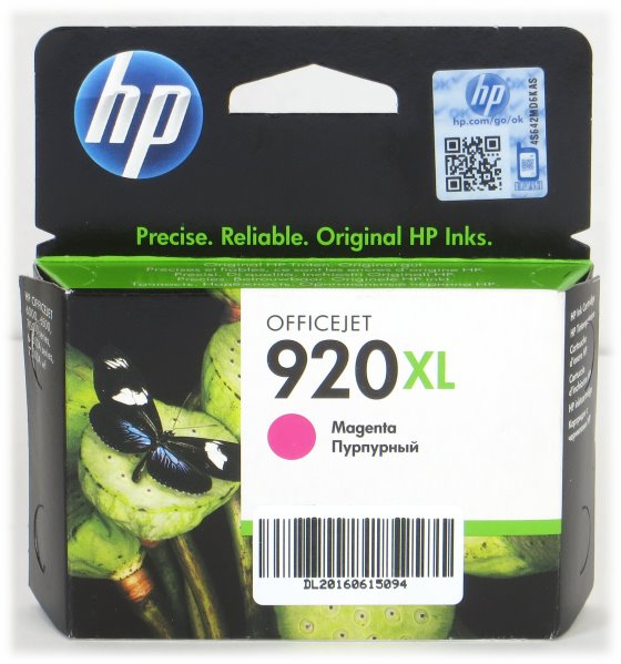 HP CD973AE BGX 920XL Magenta original NEU/NEW für OfficeJet 6000 6500 7000