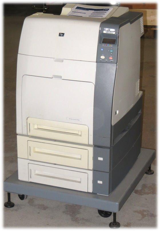 HP Color LaserJet 4700TN 160MB Farblaserdrucker 47.700 Seiten