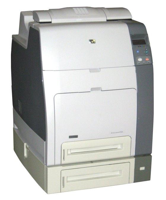 HP Color LaserJet 4700DTN 288MB 83.400 Seiten vergilbt ohne Toner