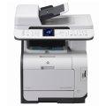 HP Color LaserJet CM2320fxi MFP defekt an Bastler ohne Tonerkassetten