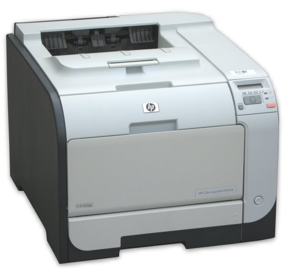 HP Color LJ CP2025dn 20 ppm 128MB Duplex LAN Farblaserdrucker defekt