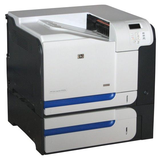 HP Color LJ CP3525x 30 ppm 512MB Duplex LAN 97.720 S. Farblaserdrucker vergilbt