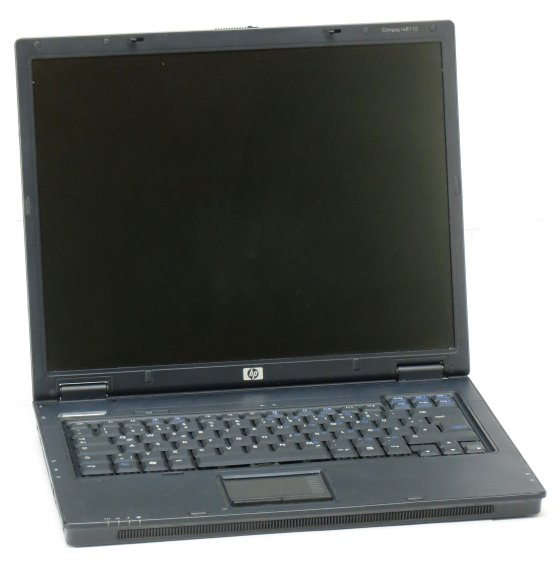 HP Compaq nx6110 Pentium M 1,6GHz 512MB 40GB DVD±RW Notebook ohne Netzteil