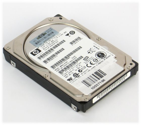 "2,5"" HP DG146A3516 146GB 10K SAS HDD MBB2147RC"