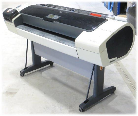 """HP DesignJet T1200 Plotter 44"""" DIN A0+ bis zu 1118mm breit CH538A vergilbt"""