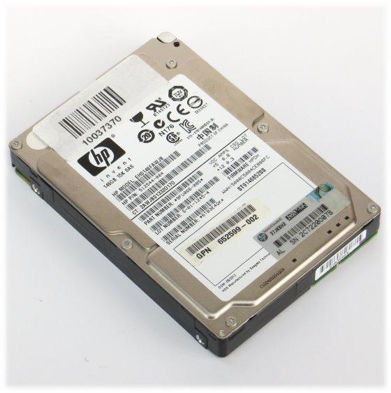 """2,5"""" HP EH0146FAWJB 146GB 15K SAS 6G ST9146852SS HDD Festplatte"""