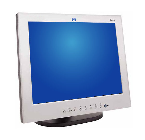"20"" TFT HP L2025 / L 2025  DVI S-Video B-Ware"
