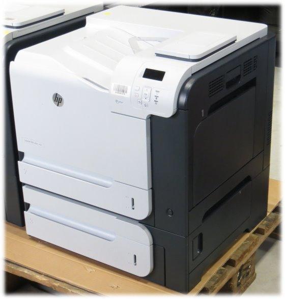 HP LaserJet 500 color m551xh 32 ppm 1GB Duplex LAN unter 500 Seiten
