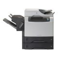 HP LaserJet M4345xs MFP FAX Kopierer Scanner Drucker mit Finisher Hefter Duplex NETZ ADF
