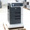 HP LaserJet M4555 MFP FAX Kopierer Drucker Scanner ADF Duplex Unterschrank