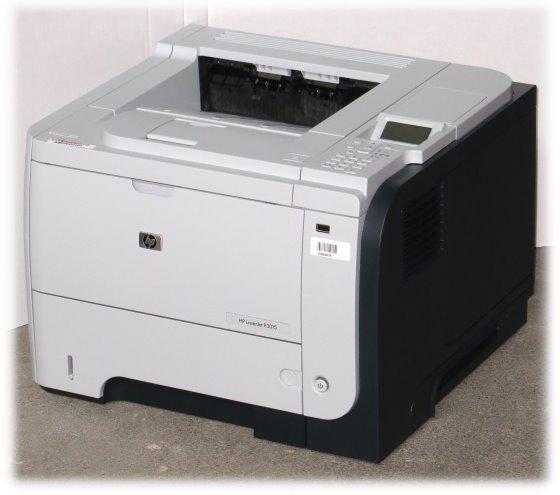 HP LaserJet P3015dn 40ppm 96MB Duplex Laserdrucker ohne Toner (Fuser-Film defekt)