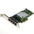 HP NC365T PCIe x4 4x RJ-45 Gigabit Ethernet Netzwerkkarte 593743-001