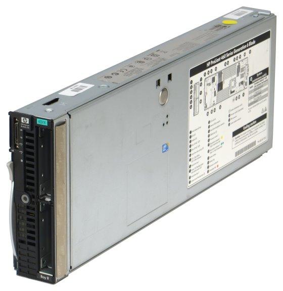 HP ProLiant BL460c G6 2x Xeon Quad Core X5550 @ 2,66GHz 64GB P410i Blade Server