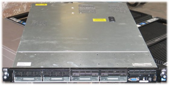 HP ProLiant DL360 G7 2x Xeon Quad Core E5530 @ 2,4GHz 12GB P410i SAS Server