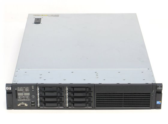HP ProLiant DL380 G7 Xeon Quad Core E5640 @ 2,66GHz 22GB P410i/512MB SAS Server