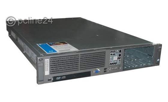 HP ProLiant DL385 G5 2x AMD Opteron Quad Core 2352 @ 2,1GHz 16GB P400 SAS 2x PSU Server