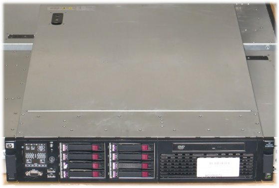 HP ProLiant DL385 G5p 2x Opteron Quad Core 2372 @ 2,1GHz 32GB 8x 146GB Server