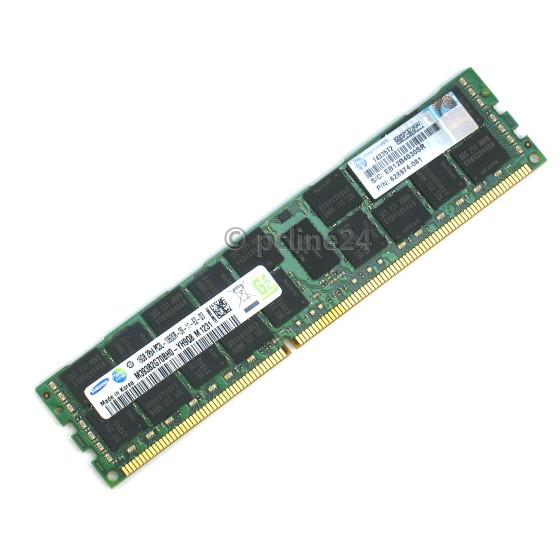 Samsung 16GB PC3L-10600R DIMM 240pin DDR3 ECC registered M393B2K70DMB-YH9