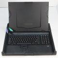 HP TFT5600 RKM US Tastatur mit Trackballmaus PS/2 Konsole mit Rackschienen NEU