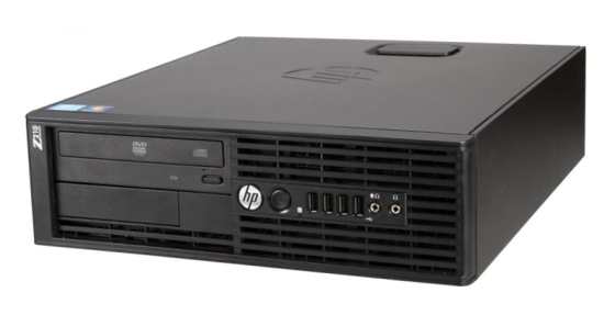 HP Z210 Xeon Quad Core E3-1230 4x 3,2GHz 8GB 500GB DVD±RW  Quadro NVS 300 Workstation