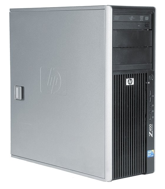 HP Z400 Xeon Quad Core W3550 @ 3,06GHz 12GB 160GB DVD±RW Quadro 2000/1GB