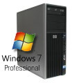 HP Z400 Xeon Quad Core W3550 @ 3,06GHz 12GB 146GB SAS DVD FX1800 Windows 7 Pro