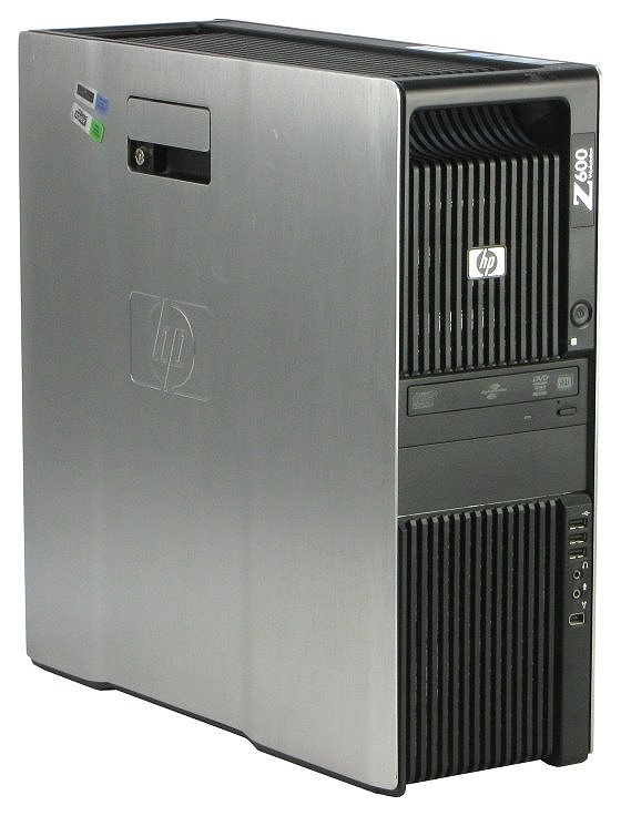 HP Z600 2x Xeon Quad Core E5530 @ 2,4GHz 6GB 750GB DVD±RW Quadro FX570 B-Ware