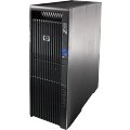 HP Z600 Workstation 2x Xeon Quad-Core X5550@2,67GHz 4GB 500GB DVD Quadro NVS 295