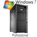 HP Z800 Windows 7 Pro 2x Xeon Quad-Core X5550 @ 2,66GHz 12GB 146GB FX3800 B-Ware