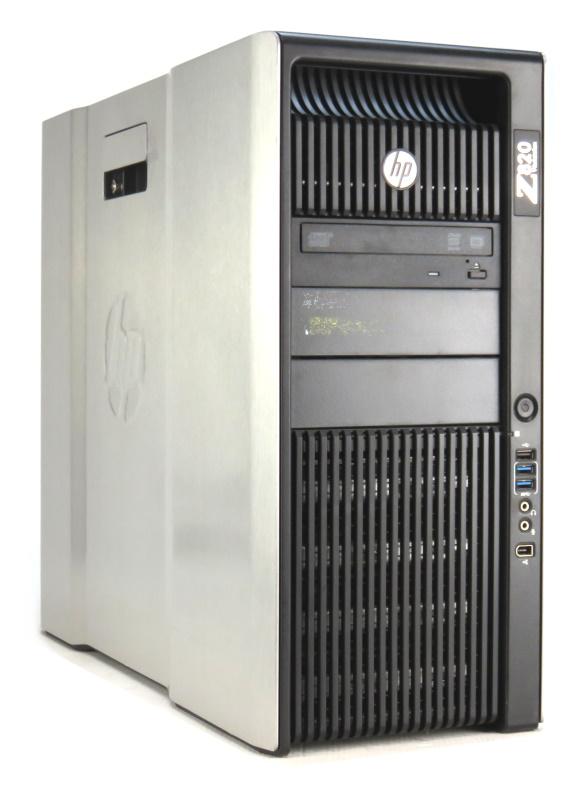 HP Z820 Xeon Quad Core E5-2643 @ 3,3GHz 16GB 512GB SSD DVD±RW Quadro K2000/2GB