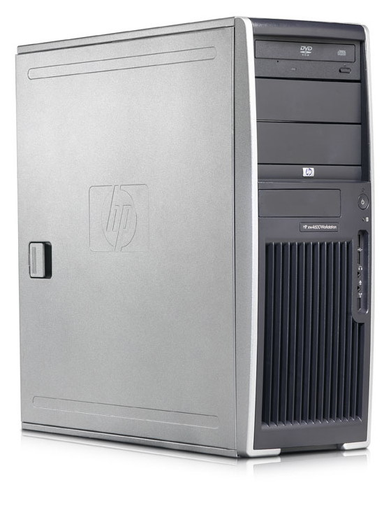 HP xw4600 Core 2 Duo E6600 @ 2,4GHz 2GB 250GB DVD±RW Quadro NVS 285