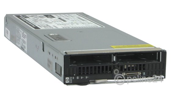 HP BL465c G5 2x AMD Opteron Quad Core 2352 @ 2,1GHz 16GB Blade Server AN920A
