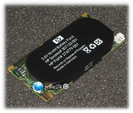 HP Smart Array Cache 413486-001 128MB mit Battery Pack 3,6V BL460c HP Smart Array 641, 642, E200