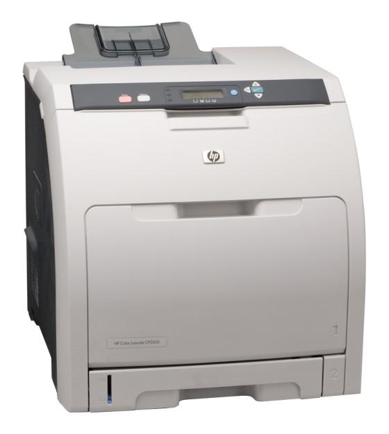 HP Color LJ CP3505dn 21 ppm 384MB Duplex 83.500 Seiten Farblaserdrucker vergilbt