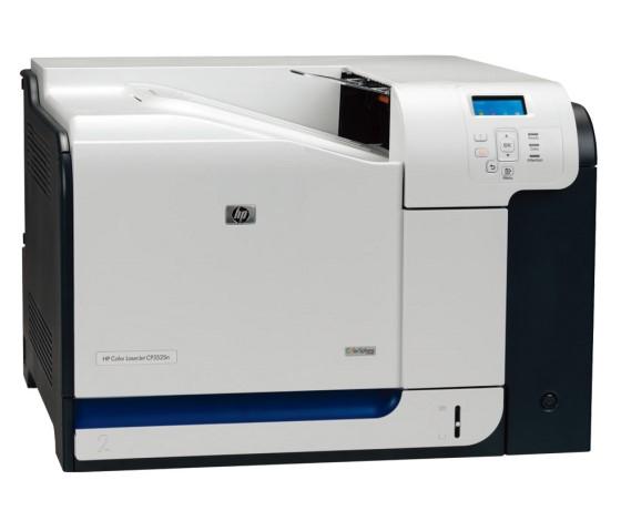 HP Color LaserJet CP3525n 30 ppm 256MB NETZ Farblaserdrucker defekt an Bastler