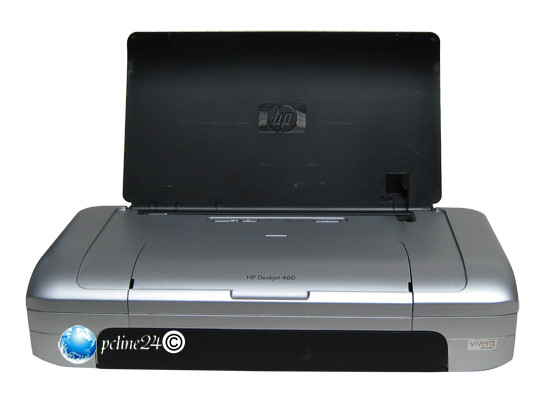 hp deskjet 460 mobiler drucker f r laptop notebook tintenstrahldrucker 10012688. Black Bedroom Furniture Sets. Home Design Ideas