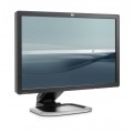 "HP 24"" LCD TFT L2445W 1000:1 5 ms Pivot Full HD 4x USB Hub VGA DVI-D Monitor"