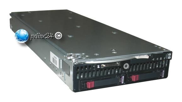 HP ProLiant BL460c G6 2x Xeon Quad Core X5550 @ 2,66GHz 24GB 2x 146GB P410i RAID